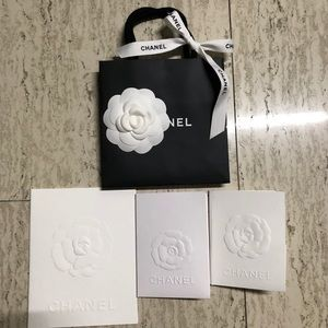 Authentic Chanel Shopping Bag Bundle